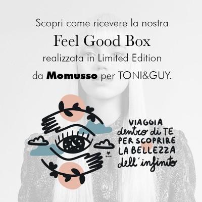 Scopri come ricevere la TONI&GUY Feel Good Box!