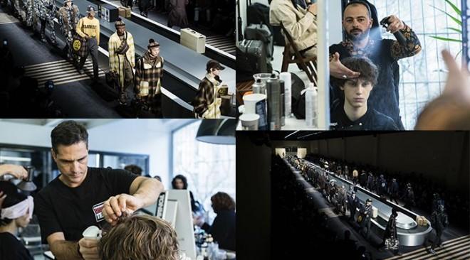 TONI&GUY a Milano Moda Uomo per Fendi 15 gennaio 2018