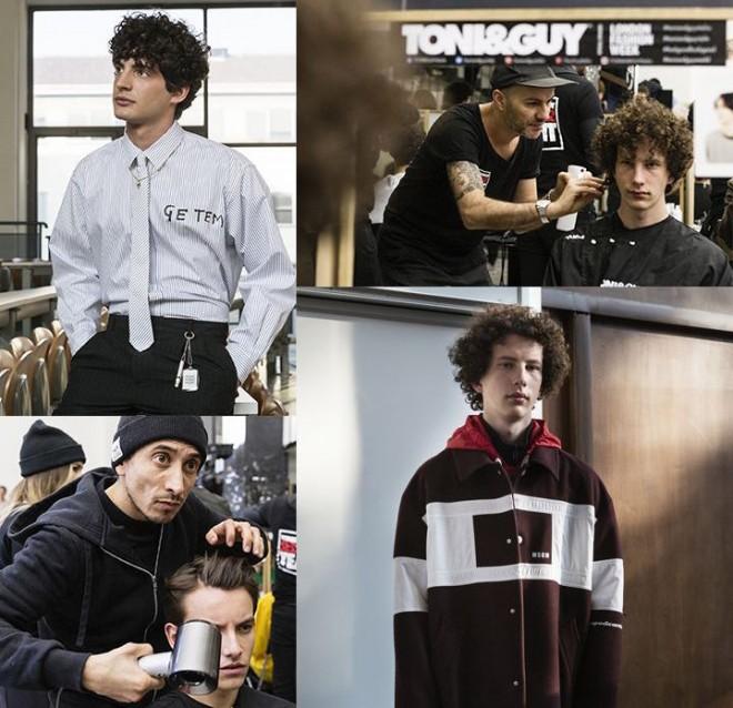 TONI&GUY a Milano Moda Uomo per MSGM 14 gennaio 2018