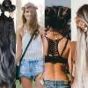 Coachella 2018 Festival Look: acconciature con i fiori