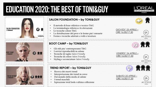 TONI&GUY x L'Oréal Professionnel 22 Aprile 2020