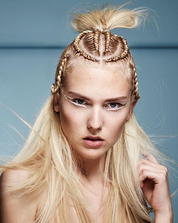 trecce capelli biondi