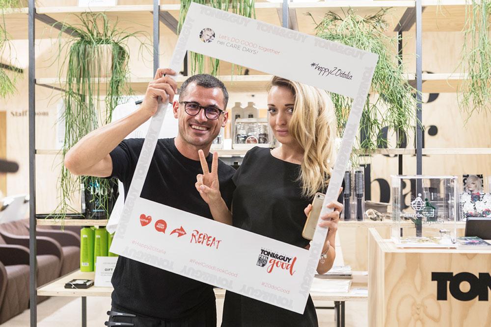 Toni&Guy Verona - Evento Aura Botanica