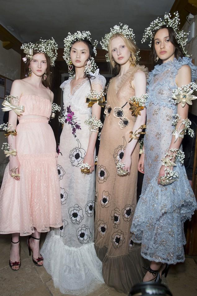 NARS Rodarte Haute Couture SS18 Fashion Look