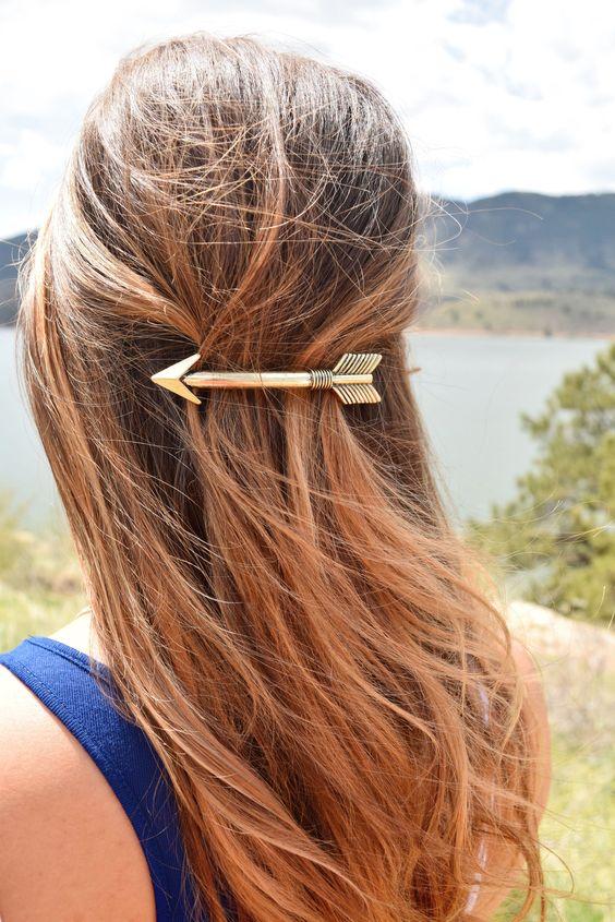 come legare i capelli