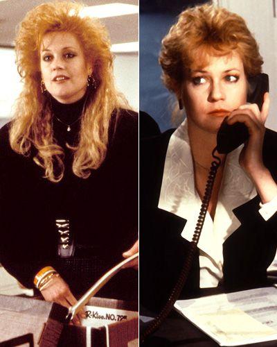 """Il cambio look di Melanie Griffith in """"Una donna in Carriera""""  Photo fuforty.com"""
