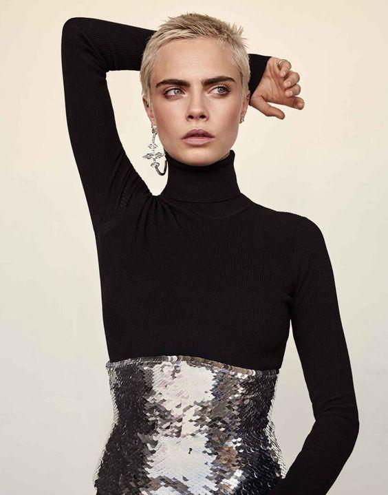 Cara Delevingne  Photo fashioneditorials via Pinterest