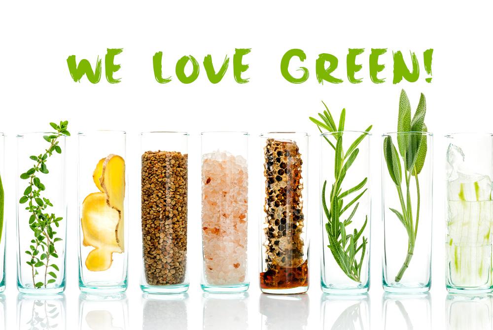 WE LOVE GREEN!