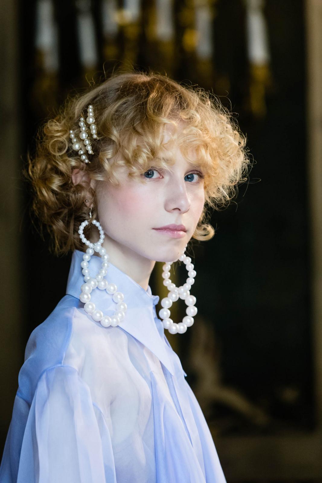 Hair by Fabrizio Palmieri and Artistic team TONI&GUY Italia for Greta Boldini Photo Carmelo Poidomani